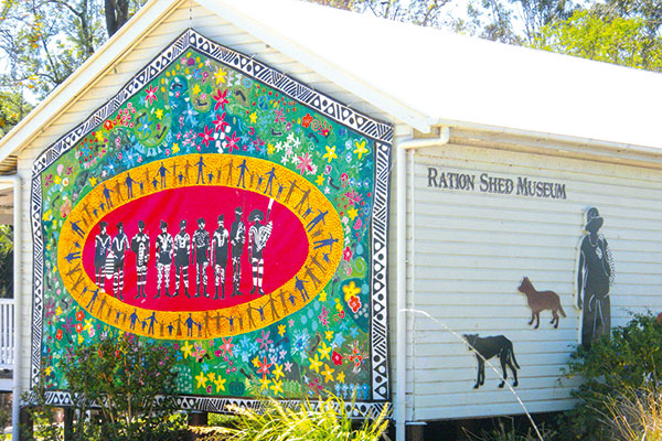 The -Ration -Shed -Museum -in -Pumpkin -Country -Qld