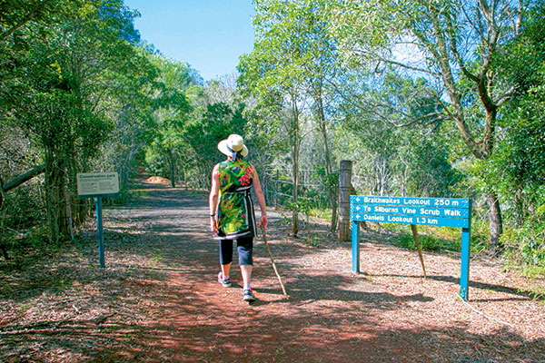 Woman -on -a -walking -trail -in -Pumpkin -Country -Qld