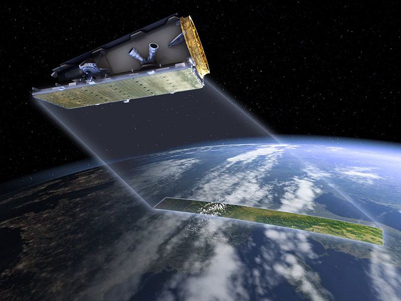 NovaSAR satellite