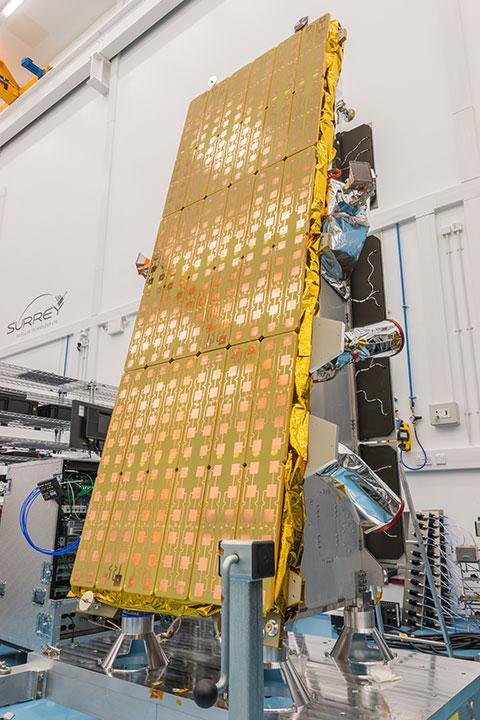 NovaSAR satellite