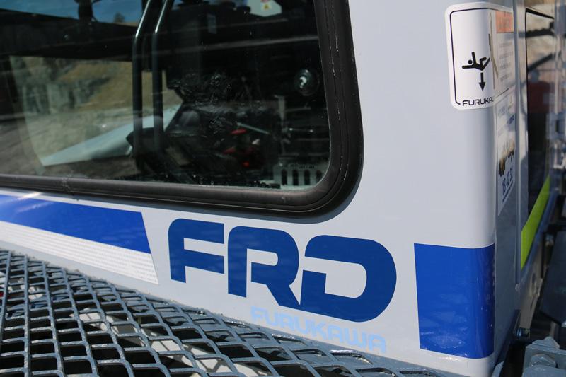 Furukawa -FRD-rock -drill