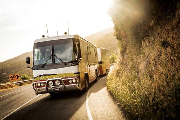Luxury -motorhome -on -the -road