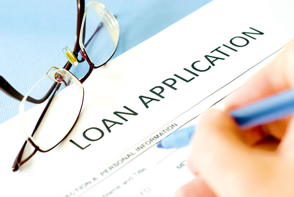 Loan -application -papers