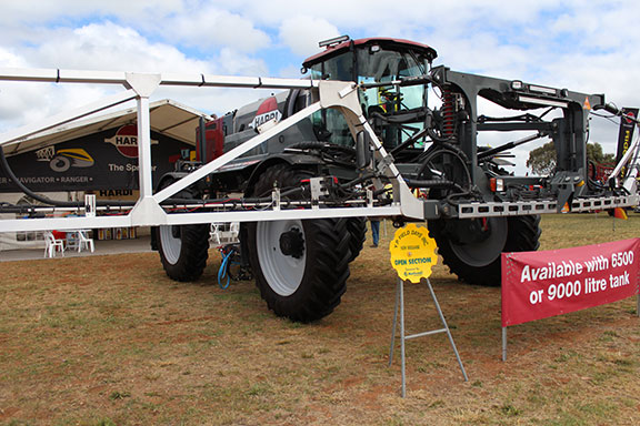 The Hardi Rubicon 6500 at its Yorke Peninsula site