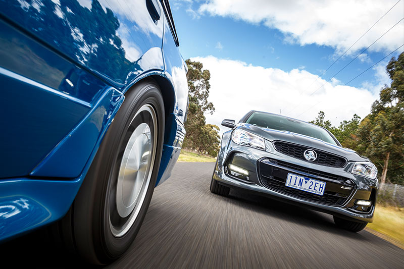 Holden -vf -commodore -onroad