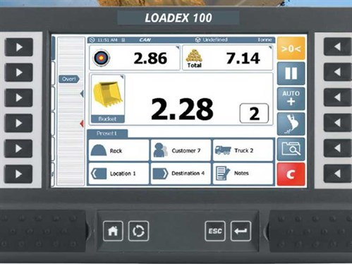 Loadex -100-excavator -scales
