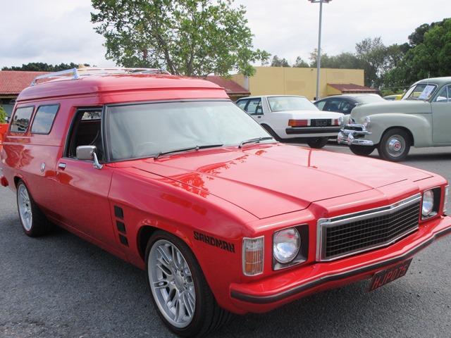1975 HJ Holden Panel Van
