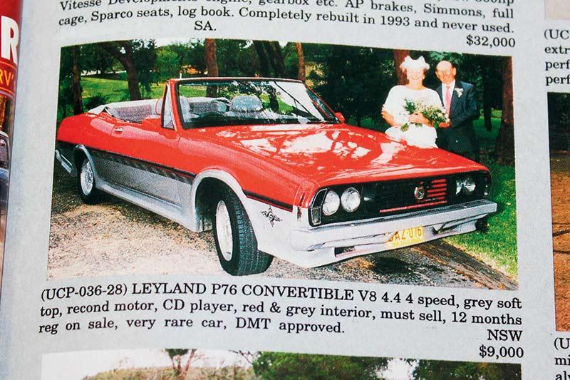 Leyland -p 76-convertible