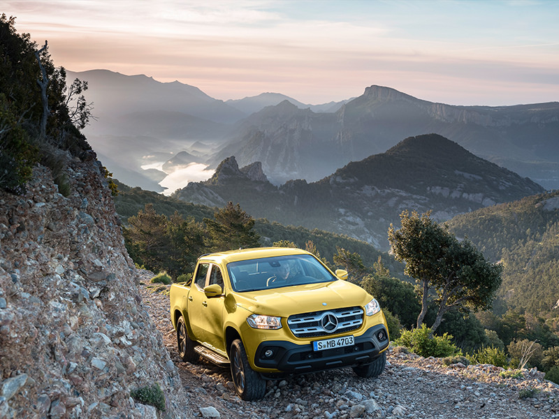 Benz X Class Double Cab Ute _ATN Image (5)