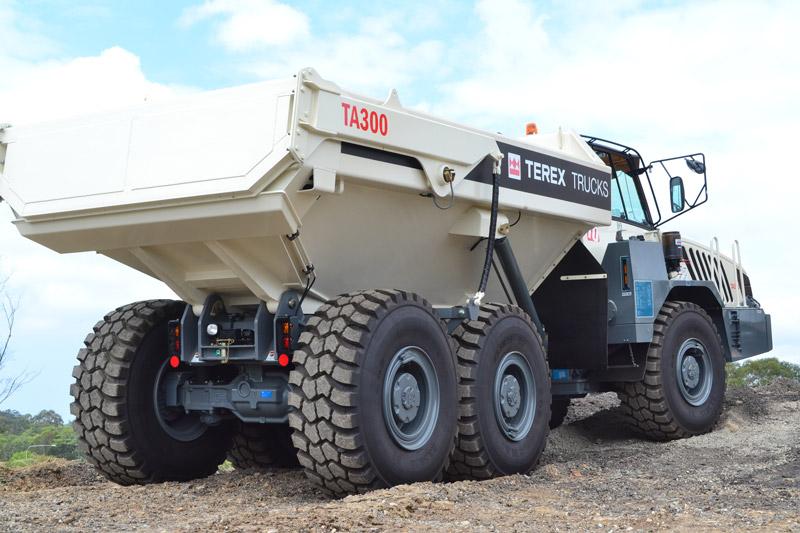Terex -TA300-Articulated -Dump -Truck