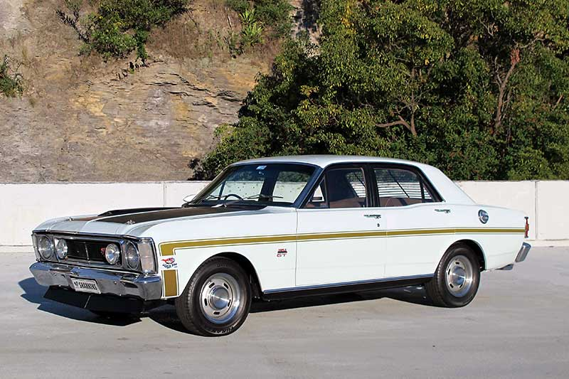 Ford -falcon --gtho
