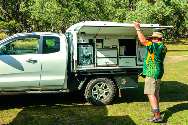 Tailgate Slide -on Camper 4
