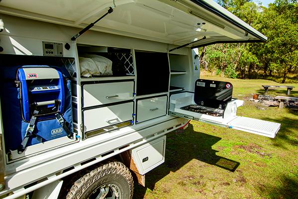 Tailgate Slide -on Camper 5