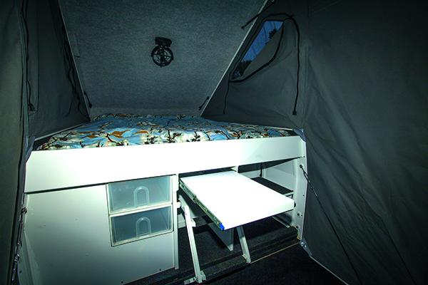 Tailgate Slide -on Camper 7