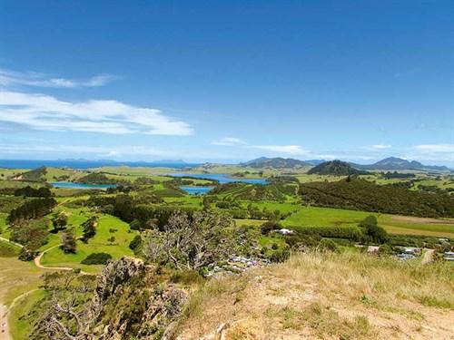 Whelan _9-view -of -Taiharuru -River -from -Te -Whangai -Head ,-Pataua