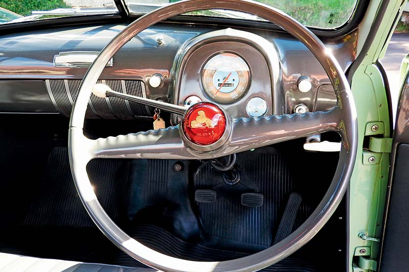 Holden -ute -steering -wheel