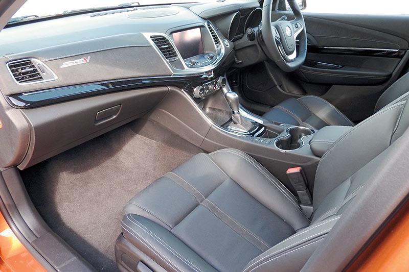 Holden -ute -interior