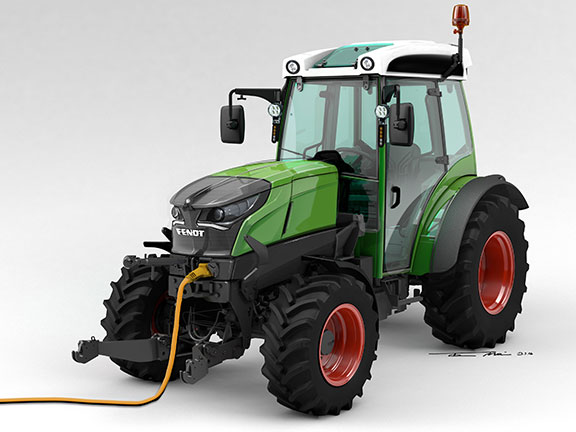 The new Fendt e100 Vario