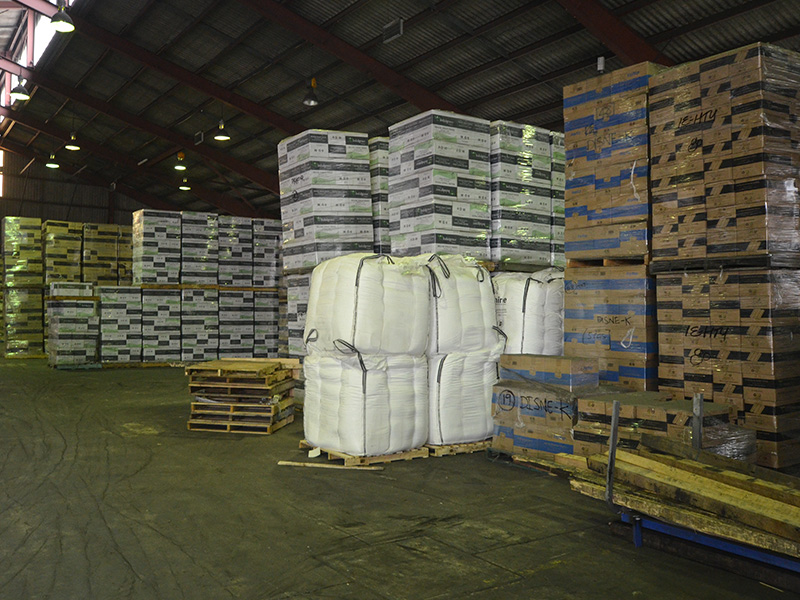 Warehousing is done at the Millperra premises