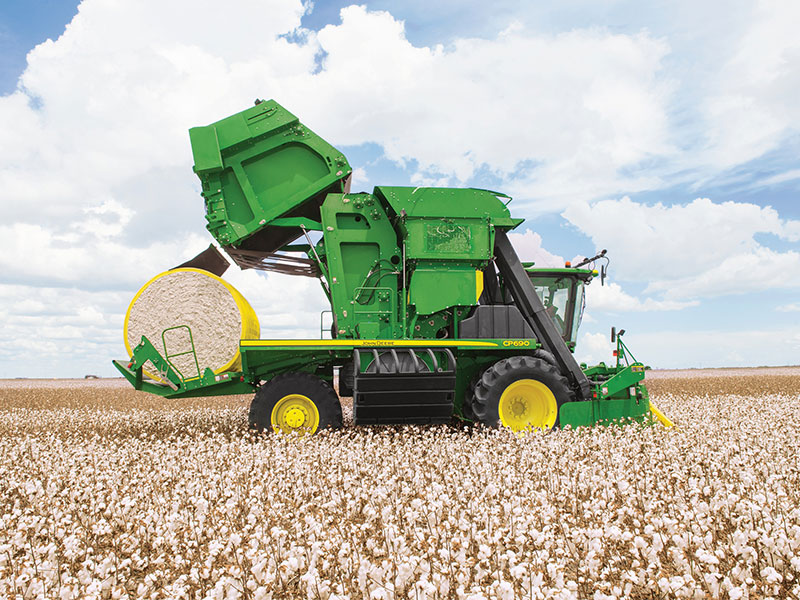 The John Deere CP90 will be on show at Agritechnica