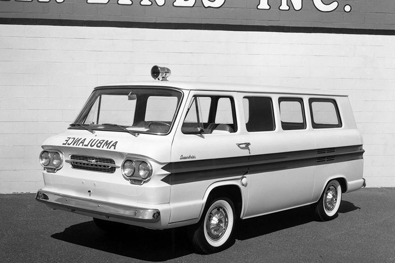 Chevrolet -corvair -greenbrier -amblewagon