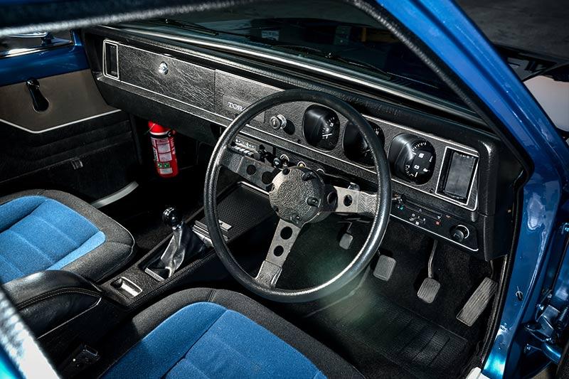 Holden -torana -interior