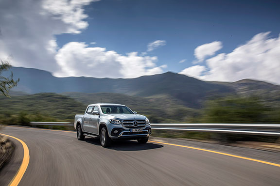 The new Mercedes X-Class