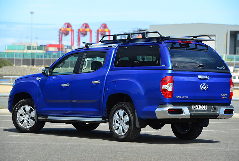 Accessories like canopies and roof racks are available options
