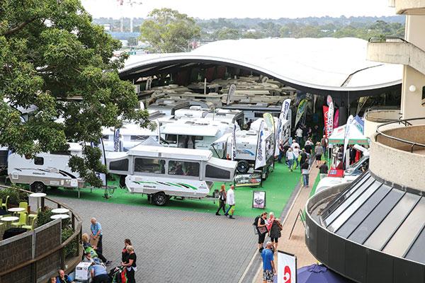 Caravan -exhibition