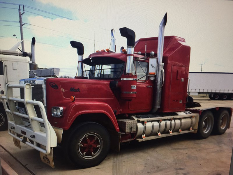 The Superliner as it was when Nick bought it, he hasn't touched the driveline