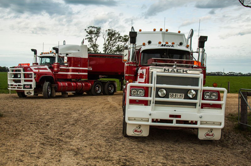Both trucks still see plenty of country miles in varied applications