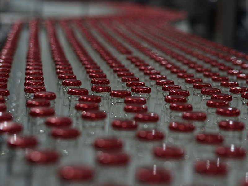 The hypnotic blur of bottling