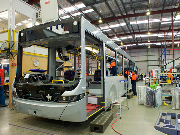 Volgren Perth factory tour