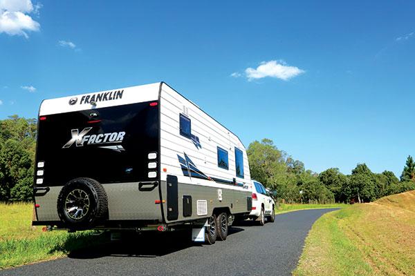Franklin -Xfactor -caravan -on -the -road
