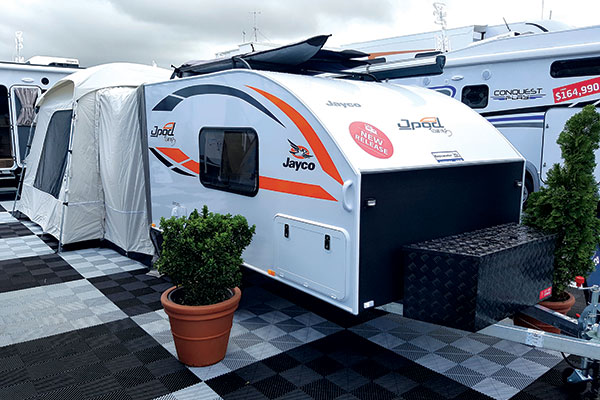 Jayco -Jpod -at -a -caravan -show