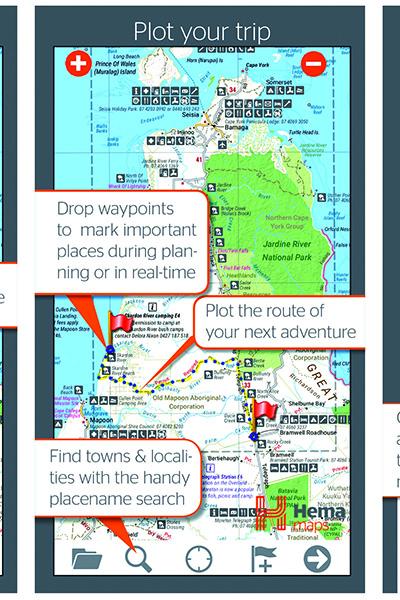 HEMA 4WD Maps