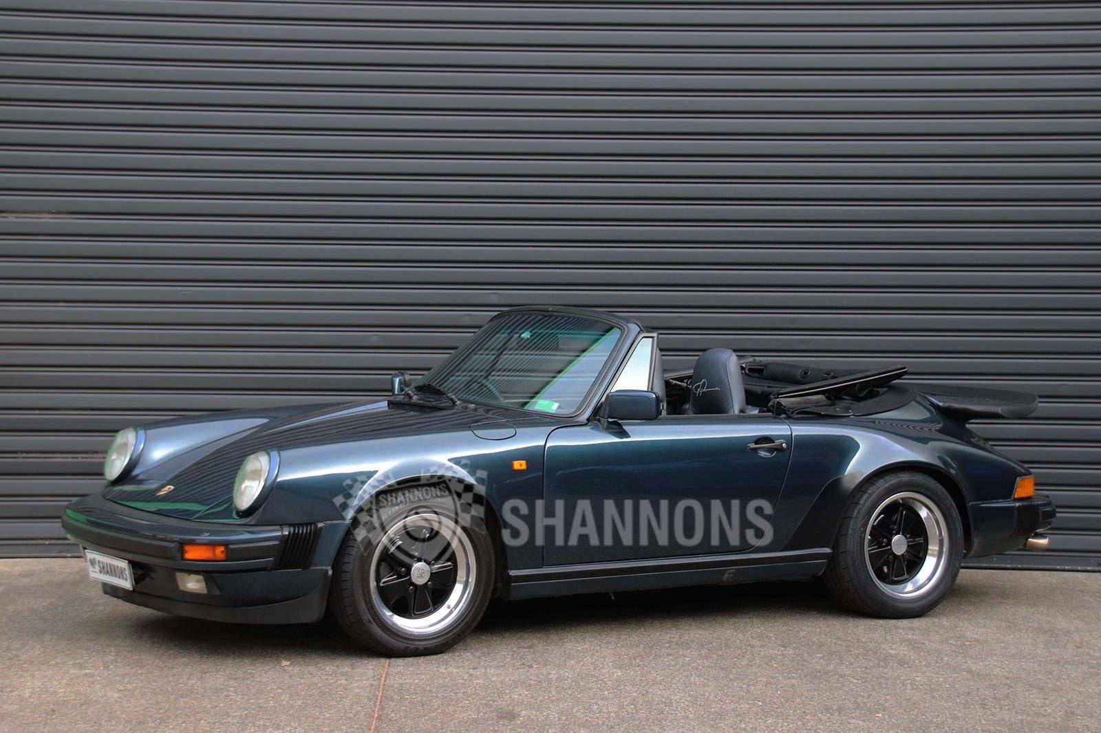 1988 Porsche 911 Carrera 3.2