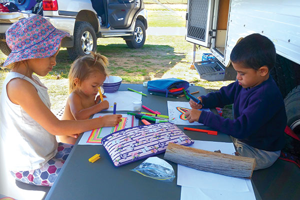 Children -home -schooling -on -the -road
