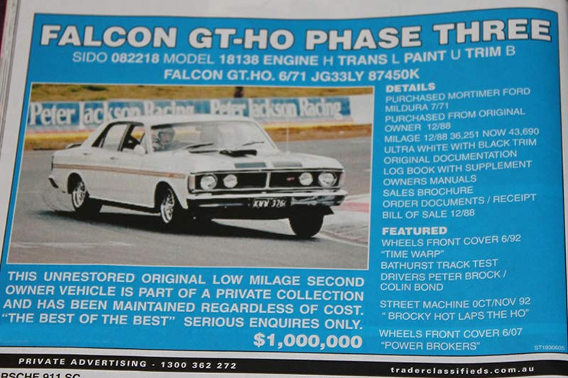 Ford -falcon -gtho