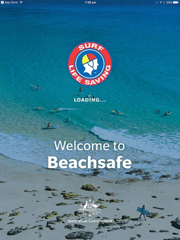 Beachsafe -app