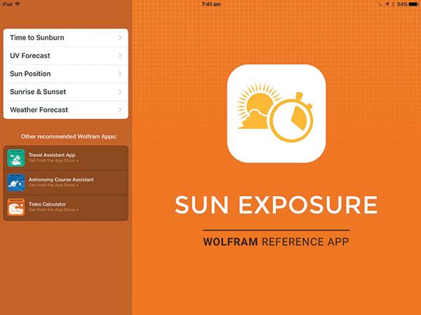 Sun -Exposure -app