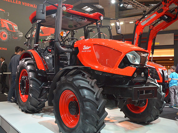 The new Zetor on display