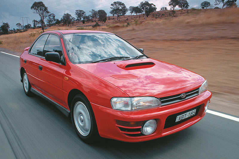 Subaru -wrx -onroad