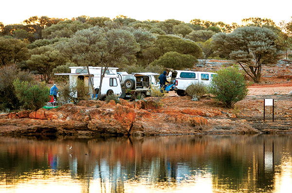 Campsite -by -the -river