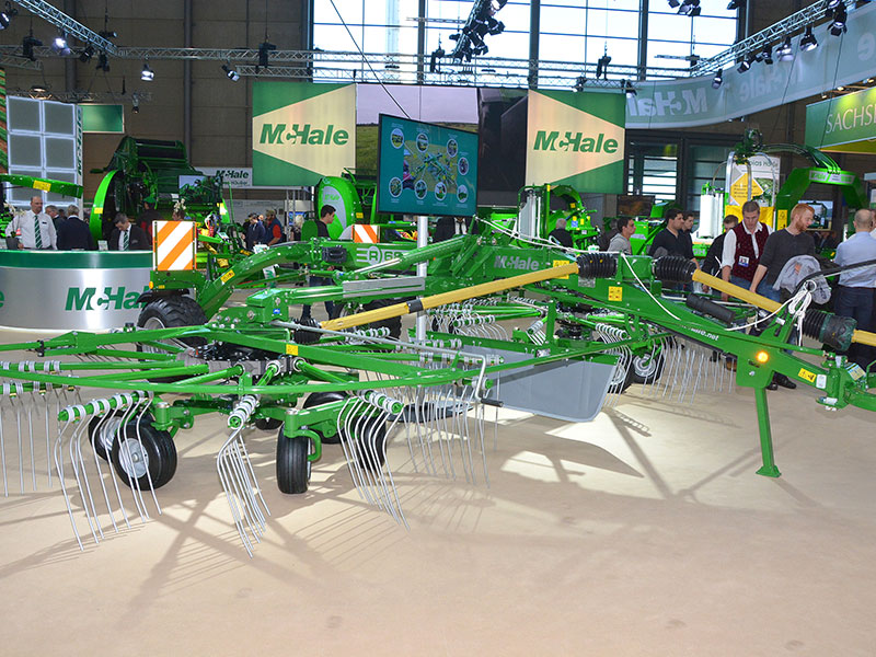 The Mchale R68-78 on display at Agritechnica