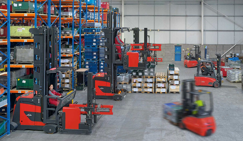 Linde -K-Series -VNA-trucks