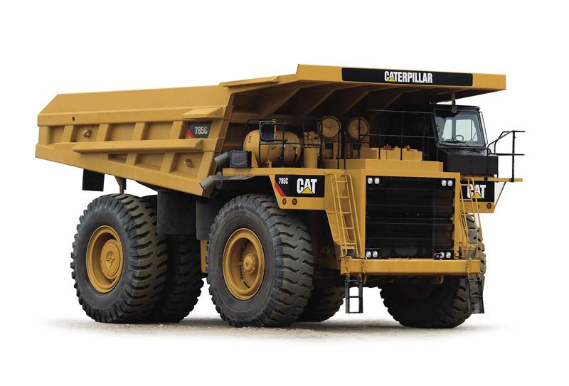 Cat -785C-mining -truck