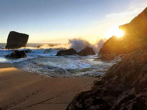 Night -advancing -on -Kohaihai -Beach-