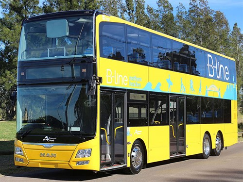 9f32ad20c9 Sydney metro MAN A95 buses delivered