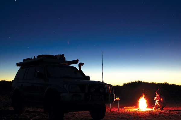 Oodnadatta -bush -camp